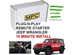 Plug-n-Play OEM Remote Activated Remote Start For 2007-2018 Jeep Wrangler