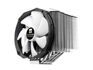 Le GRAND MACHO RT  Large heat-sink fins surface area with proprietary through holes on fins for efficient ventilation.Including one Thermalright TY-147B Utra-low noise 300~1300RPM 150mm PWM-Fan.