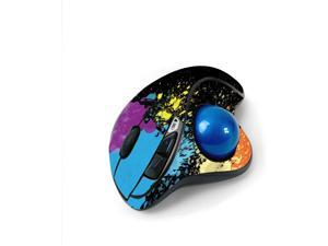 MightySkins Skin for Logitech M570 Wireless Trackball Mouse - Splatter   Protective, Durable, and Unique Vinyl Decal wrap Cover   Easy to Apply, Remove, and Change Styles   Made in The USA