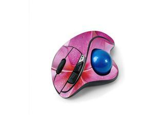 MightySkins Skin for Logitech M570 Wireless Trackball Mouse - Flowers   Protective, Durable, and Unique Vinyl Decal wrap Cover   Easy to Apply, Remove, and Change Styles   Made in The USA