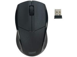 STAPLES 959064 23420 Wireless Optical Mouse Black
