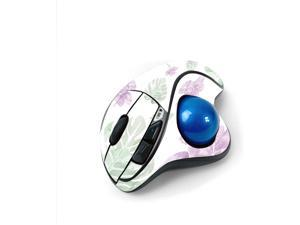 MightySkins Skin for Logitech M570 Wireless Trackball Mouse - Water Color Flowers   Protective, Durable, and Unique Vinyl Decal wrap Cover   Easy to Apply, Remove, and Change Styles   Made in The USA