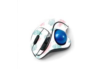 MightySkins Skin for Logitech M570 Wireless Trackball Mouse - Paper Flowers   Protective, Durable, and Unique Vinyl Decal wrap Cover   Easy to Apply, Remove, and Change Styles   Made in The USA