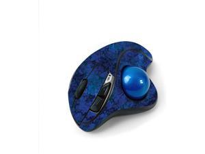 MightySkins Skin for Logitech M570 Wireless Trackball Mouse - Blue Ice   Protective, Durable, and Unique Vinyl Decal wrap Cover   Easy to Apply, Remove, and Change Styles   Made in The USA
