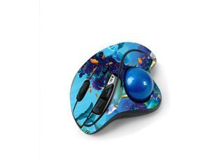 MightySkins Skin for Logitech M570 Wireless Trackball Mouse - Ocean Friends   Protective, Durable, and Unique Vinyl Decal wrap Cover   Easy to Apply, Remove, and Change Styles   Made in The USA