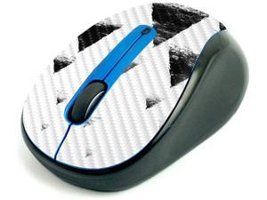MightySkins Carbon Fiber Skin for Logitech M325 Wireless Mouse - Black Hills, Protective, Durable Textured Carbon Fiber Finish, Easy to Apply | Made in The USA (CF-LOGM510-Black Hills)