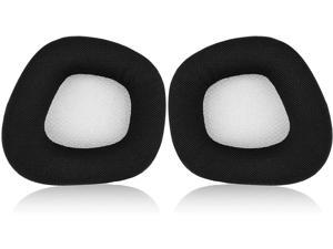 JECOBB Replacement Earpads with Mesh Fabric & Memory Foam Ear Cushion Cover for Corsair Void & Corsair Void PRO RGB Wired/Wireless Gaming Headset ONLY (Black/Grey)
