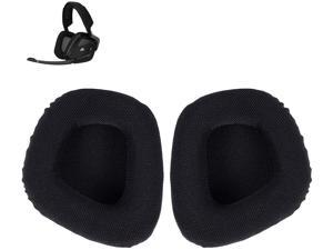 Replacement Ear Cushion Pads Parts for Void Wired/Wireless Corsair Void PRO RGB USB Gaming Headset ONLY(Black Mesh Fabric)