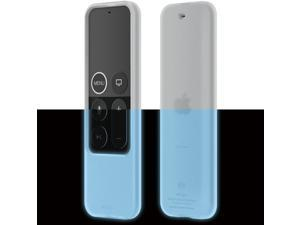 elago R2 Slim Case Compatible with Apple TV Siri Remote 1st Generation (Nightglow Blue) - Slim Design, Scratch-Free Silicone, Shock Absorption, Full Access
