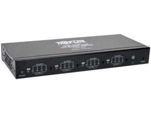 Tripp Lite 4x4 HDMI Over Cat5 / Cat6 Matrix Splitter Switch , Transmitter for Video and Audio, 1920x1200 1080p at 60Hz(B126-4X4) , Black
