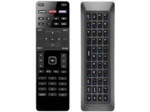 UNOCAR Remote for Vizio Smart TV Remote with QWERTY Keyboard Back Light Dual Side and Vizio Smart TV 4K UHD HDR Quantum Vizio M P Series LED LCD 32 39 40 42 43 47 48 49 50 55 60 65 70 75 80 inch TV