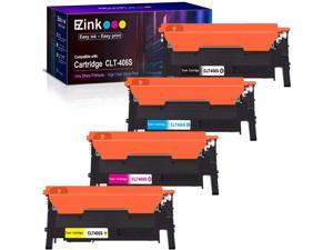 E-Z Ink (TM) Compatible Toner Cartridge Replacement for Samsung 406 406S CLT-K406S CLT-C406S CLT-M406S CLT-Y406S to use with Xpress C460W C410W (1 Black, 1 Cyan, 1 Magenta, 1 Yellow, 4 Pack)