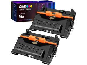 E-Z Ink (TM) Compatible Toner Cartridge Replacement for HP 90A CE390A 90X CE390X (Black, 2 Pack)