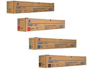 TN221 A8K3130 Genuine Konica Minolta Toner Value Pack, B/C/M/Y