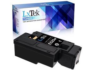 LxTek Compatible Toner Cartridge Replacement for Dell E525W E525DW E525 525 to use with E525W Color Laser Printer (1 Black, High Yield)
