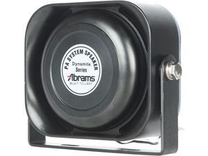 Abrams ABR-S100 Compact 100W Siren Speaker High Performance (Capable with Any 100W Siren) Ultra Slim Low Profile