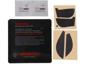 mengersty Original Hotline Games Mouse Skates Side Stickers Sweat Resistant Pads Anti-Slip Tape for Logitech G502 Mouse