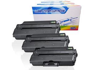 B1163w for Dell B1160 B1165nfw Black,3-Pack B1160W 331-7335 NYT Compatible Toner Cartridge Replacement for Dell 1160