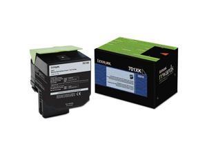 Lexmark 70C1XK0 70C1XKO (LEX-701XK) Extra High-Yield Toner, 8000 Page-Yield, Black