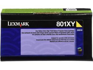 Lexmark 80C1XY0 Yellow Extra High Yield Return Program Toner