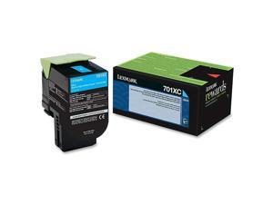Lexmark 70C1XC0 Extra High-Yield Toner, 4000 Page-Yield, Cyan