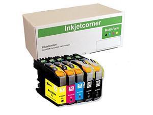 Inkjetcorner Compatible Ink Cartridges Replacement for LC203Y LC203XL for use with MFC-J460DW MFC-J480DW MFC-J485DW MFC-J680DW MFC-J880DW MFC-J885DW Yellow, 3-Pack
