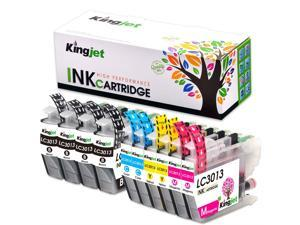 EVESKY Kingjet 3013 Ink Replacements for Brother LC3013 Ink Cartridges Compatible with MFC-J491DW MFC-J497DW MFC-J690DW MFC-J895DW Inkjet Printers 10 Pack(2Set + 2BK)