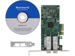 Taidda Network Card NIC SFP Network,Dual Port Optical Fiber Network Card BCM57810S 10Gbps Dual Port Optical Fiber SFP Network Card