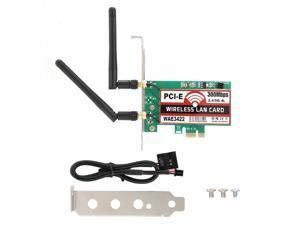yerflew Mini Dual Band Wireless Computer Network Card PCI-E WiFi Adapter Network Cards
