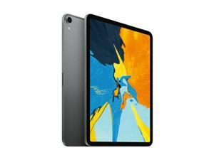 "Apple iPad Pro 256GB Wi-Fi + 4G LTE Unlocked, 11"" (2018) - Space Gray"