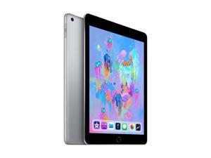 Apple iPad 6th Gen 32GB Wifi + Cellular Unlocked, 9.7in - Space Gray