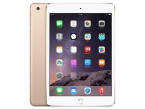 """Apple iPad Mini 3 64GB, WI-FI + 4G (Unlocked), 7.9"""" - Gold (MH392LL/A)"""