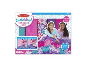 Melissa & Doug 8561 Created by Me - Flower Fleece Quilt