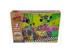 Spin Master Toys,  Mickey 7pk Wood Puzzles