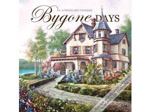 Bygone Days 2022 12 x 12 Inch Monthly Square Wall Calendar by Hopper Studios Featuring the Artwork of Carl Valente, Rural Country Art