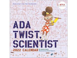 Harry N. Abrams,  Ada Twist Scientist 2022 Wall Calendar (The Questioneers)