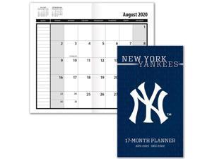 Turner Licensing,  New York Yankees 2022 17-Month Pocket Planner