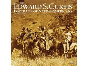 BrownTrout,  Curtis Edward S Portraits of Native Americans 2022 Wall Calendar