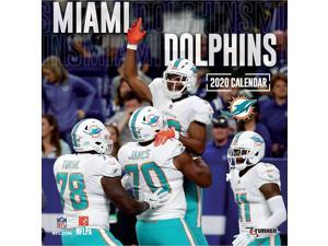 MIAMI DOLPHINS  FOOTBALL 2020 MINI MAGNETIC CALENDAR MONTHLY TEAR OFF PAGES