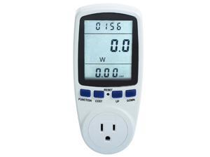 MegaPower (TM) Plug Power Meter Monitor Energy Watt Voltage Amps Meter with Electricity Usage Monitor, Reduce Your Energy Costs