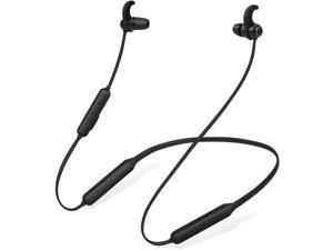 Avantree Bluetooth Neckband Headphones Earbuds for TV PC, No Delay, 20 Hrs Playtime Wireless Earphones with Mic, Magnetic, Light & Comfortable, Compatible with iPhone Cell Phones, Workout Gym - NB16