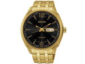 Seiko SNKN48 Mens Gold Recraft Series Automatic Watch