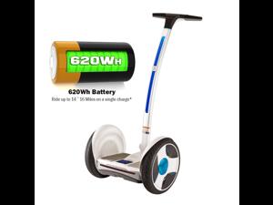 Ninebot Elite PTR E + Two Wheel Self Balancing Electric Personal Transporter White