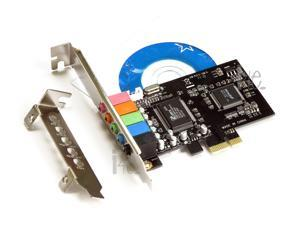 Cmedia Chipset CMI8738 PCI-Express 5.1 6-Channels Digital Audio Sound Card SFF with Low Profile for SFF Computers
