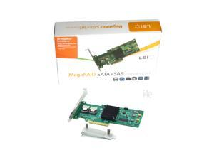 LSI MegaRaid SAS 9240-8i 6Gb/s 8-Port SATA+SAS RAID Controller - Single Pack