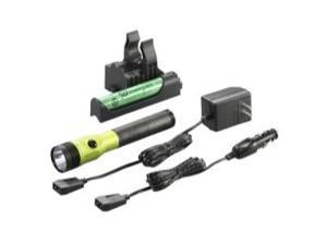 75478 Stinger LED HL Rechargeable Flashlight with PiggyBack Charger (Lime Green)