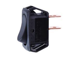 Jandorf 61169 Mini SPST Rocker Switch, 16 Amp, 12 Volt