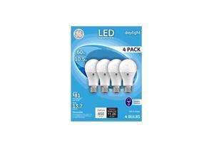 GE 67616 LED A9 Daylight Light Bulb, 10 Watts, 4/Pack