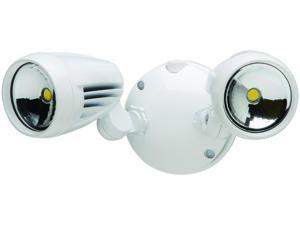 Led Security Lighting, White Heathco Receptacles and Switches HZ-8485-WH-A
