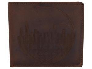 809342bd033f AFONiE Men Rustic Chicago Stamped Wallet ...